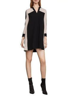 BCBG Max Azria BCBGMAXAZRIA Colorblock Shift Dress