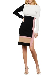 BCBG Max Azria Bcbgmaxazria Colorblocked Knit Dress