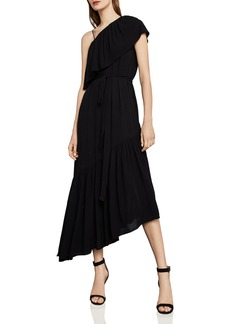 BCBG Max Azria BCBGMAXAZRIA Conrad One-Shoulder Asymmetric Dress
