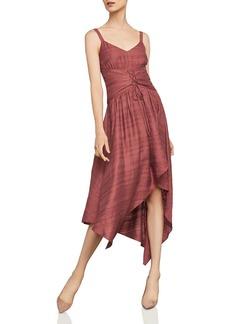BCBG Max Azria BCBGMAXAZRIA Corset Detail Asymmetric Dress