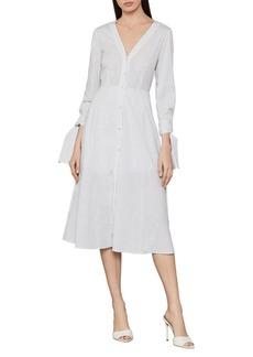 BCBG Max Azria BCBGMAXAZRIA Cotton Stripe Shirt Dress