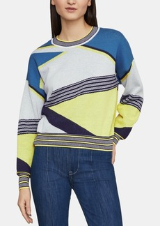 BCBG Max Azria Bcbgmaxazria Cotton Striped Sweater