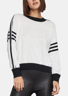 BCBG Max Azria Bcbgmaxazria Cotton Varsity Sweater