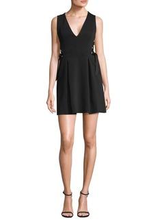 BCBGMAXAZRIA Crisscross Little Black Dress