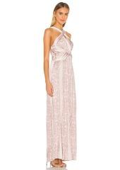 BCBG Max Azria BCBGMAXAZRIA Cross Front Maxi Dress
