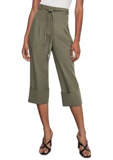 BCBG Max Azria Bcbgmaxazria Cuffed Box-Pleat Pants