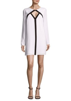 BCBG Max Azria Cut-Out Shift Dress
