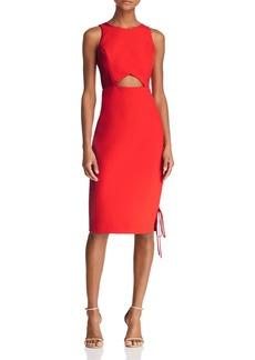 BCBG Max Azria BCBGMAXAZRIA Cutout Crepe Dress