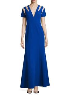 BCBG Max Azria BCBGMAXAZRIA Cut-Out Evening Gown
