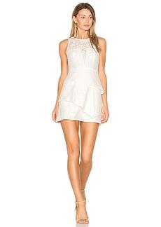 BCBGMAXAZRIA Daegan Dress in White. - size 12 (also in 4,6)