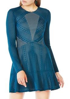 BCBG Max Azria BCBGMAXAZRIA Daina Paneled Lace Dress