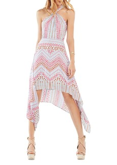 BCBGMAXAZRIA Danela Handkerchief Hem Dress