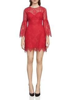 BCBG Max Azria BCBGMAXAZRIA Daniella Bell Sleeve Lace Dress
