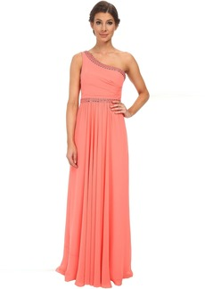 BCBGMAXAZRIA Danielle One Shoulder Gown