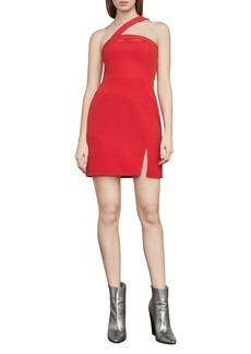 BCBG Max Azria BCBGMAXAZRIA Dayne Asymmetrical Shoulder Dress