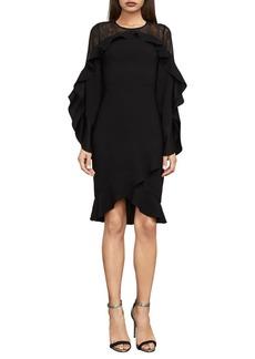 BCBG Max Azria BCBGMAXAZRIA Delaney Lace-Inset Dress