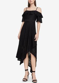 BCBG Max Azria Bcbgmaxazria Demi Lace Asymmetrical Midi Dress