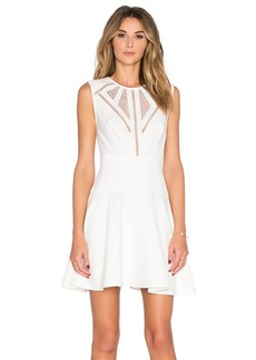 BCBGMAXAZRIA Detail Mini Dress