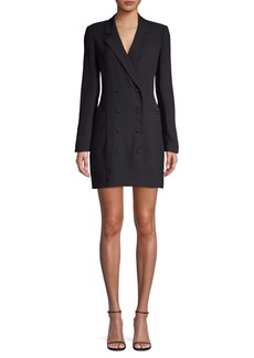 BCBG Max Azria BCBGMAXAZRIA Double-Breasted Blazer Dress