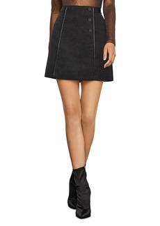 BCBG Max Azria BCBGMAXAZRIA Double-Breasted Moire Skirt
