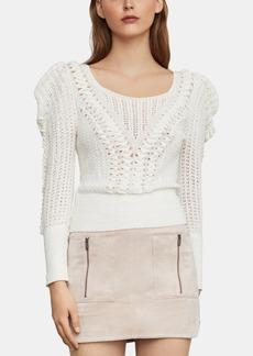 BCBG Max Azria Bcbgmaxazria Draped-Shoulder Sweater