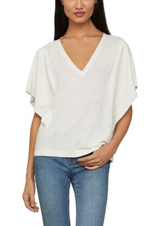 BCBG Max Azria Bcbgmaxazria Draped-Sleeve Knit Top