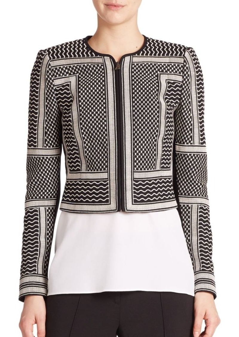 BCBG Max Azria BCBGMAXAZRIA Duke Embroidered Jacket