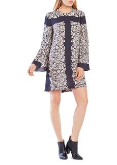 BCBGMAXAZRIA Dulchey Floral Print Dress