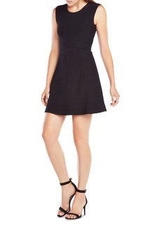 BCBGMAXAZRIA Dyanna Textured Knit Jacquard Dress