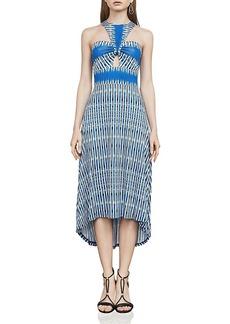 Bcbgmaxazria Eileen Open Twist-Front Dress