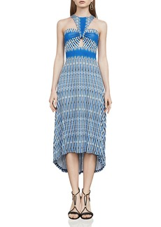 BCBGMAXAZRIA Eileen Open Twist-Front Dress