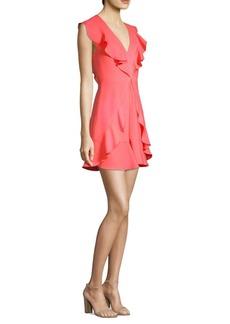 BCBG Max Azria Eleeza Ruffle Mini Dress