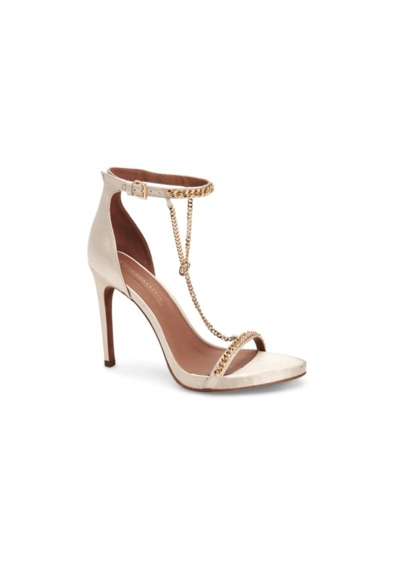 BCBG Max Azria Bcbgmaxazria Ella Chain T-Strap Sandals Women's Shoes