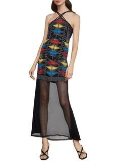 BCBG Max Azria BCBGMAXAZRIA Embroidered Maxi Dress