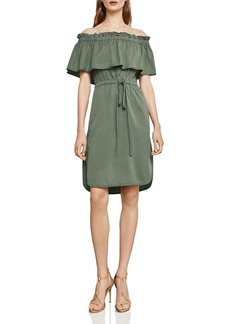 BCBG Max Azria BCBGMAXAZRIA Evangelie Off-the-Shoulder Dress