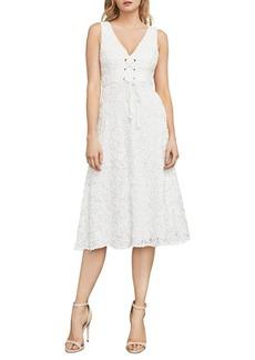 BCBG Max Azria BCBGMAXAZRIA Evanna Corset-Front Lace Dress