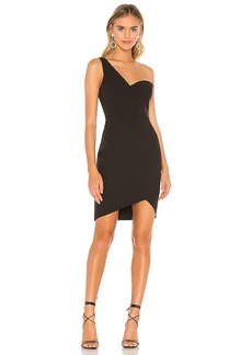 BCBG Max Azria BCBGMAXAZRIA Eve One Shoulder Dress