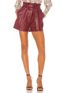 BCBG Max Azria BCBGMAXAZRIA Faux Leather Shorts