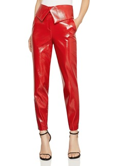 BCBG Max Azria BCBGMAXAZRIA Faux Patent Leather Pants