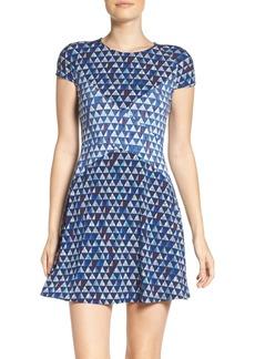 BCBGMAXAZRIA Fit & Flare Dress