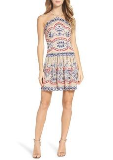 BCBGMAXAZRIA Fleur Drop Waist Dress