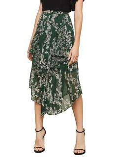 BCBG Max Azria BCBGMAXAZRIA Floral A-Line Skirt