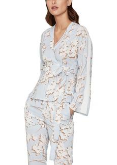 BCBG Max Azria Bcbgmaxazria Floral-Print Wrap Jacket