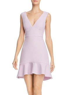 BCBG Max Azria BCBGMAXAZRIA Flounce Hem Mini Dress - 100% Exclusive