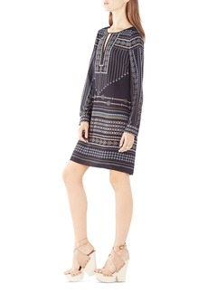 BCBGMAXAZRIA Freya Tapestry Print Tunic Dress