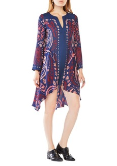 BCBGMAXAZRIA 'Geena' Handkerchief Hem Dress