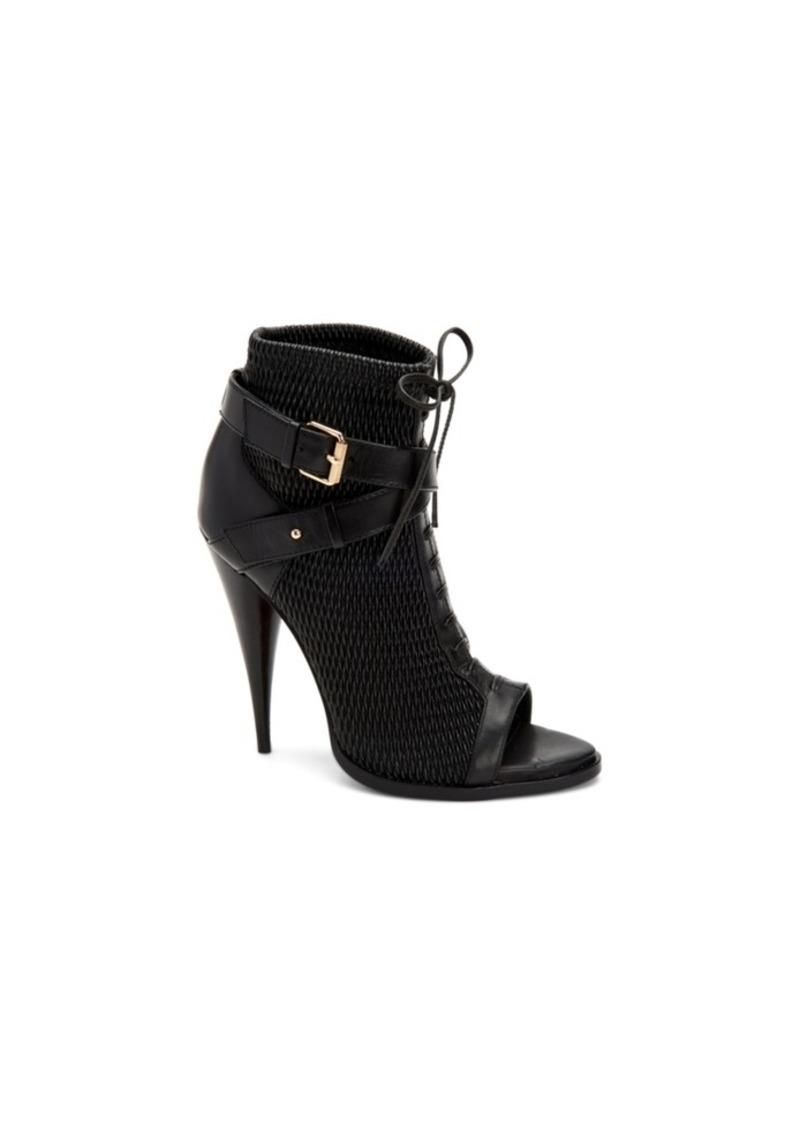 BCBG Max Azria Bcbgmaxazria Gia Peep Toe Booties Women's Shoes