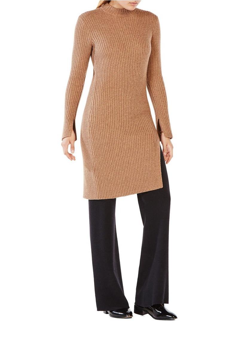 BCBG Max Azria BCBGMAXAZRIA Gwynn Mockneck Rib-Knit Dress