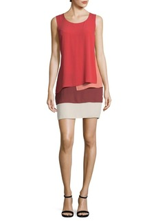 BCBG Max Azria BCBGMAXAZRIA Haley Layered Sleeveless Dress