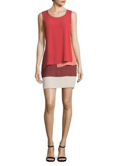BCBGMAXAZRIA Haley Layered Sleeveless Dress
